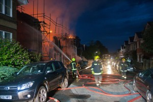 Hatherley Road Fire: suspected arson