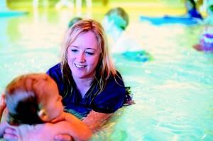 winchester mum splashes down