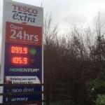 Winchester Petrol Below £1 Per Litre