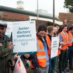 Junior Doctors in Winchester Stand Firm