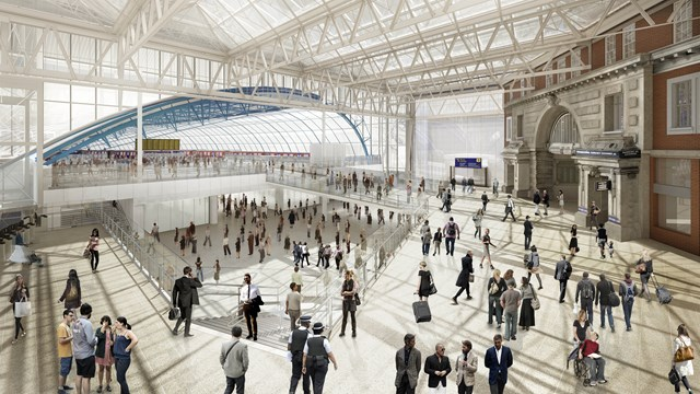 800m investment at waterloo station