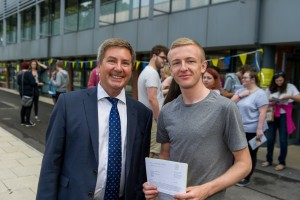Results Day for Peter Symonds College